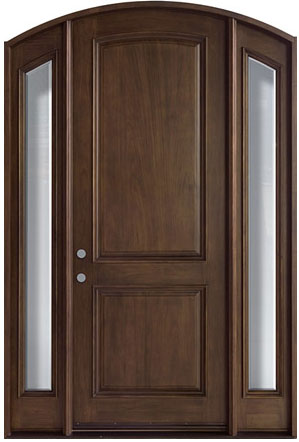 French collection solid wood entry door wood doors for Wood doors and windows