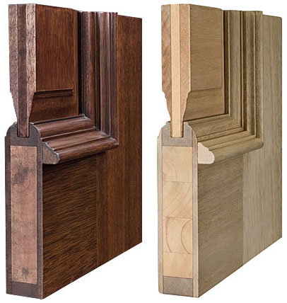 Craftsmanship of solid wood entry doors products for Solid wood door construction